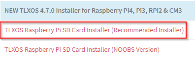 1_TLXOS_RaspberryPi4_SDcard_Installer