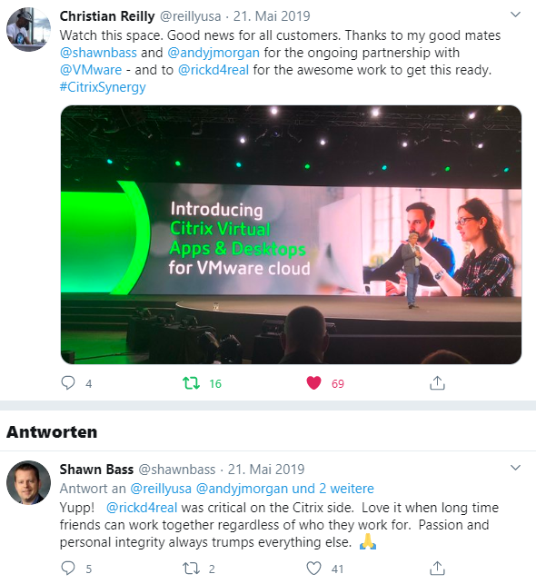 Citrix Partnership VMware