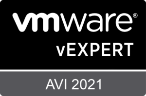 VMware vExpert Avi 2021